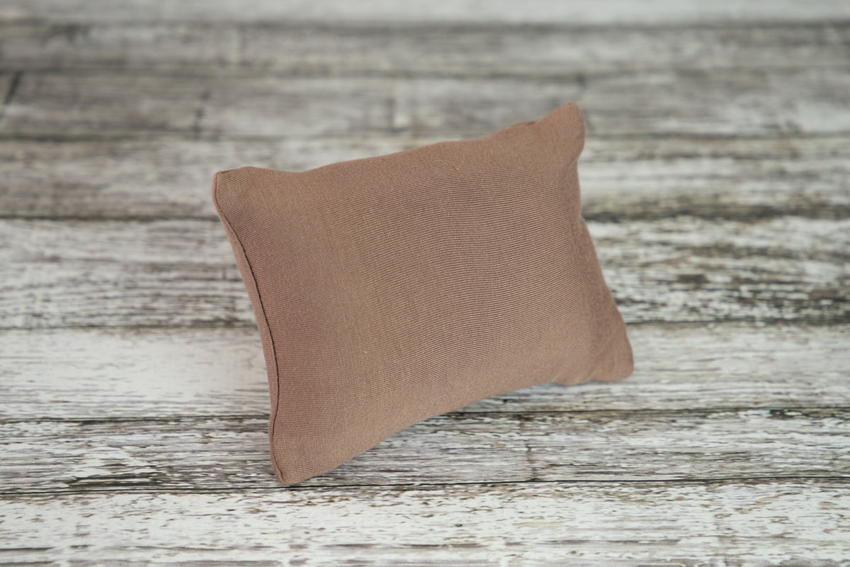 Mini Pillow with Cover - Smooth - Cocoa