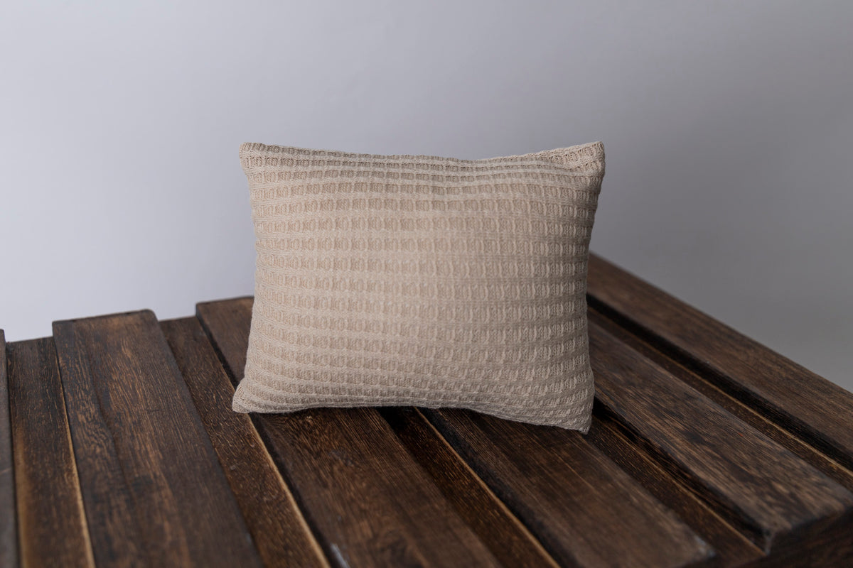 Mini Pillow with Cover - Perforated - Apple Cinnamon Oatmeal