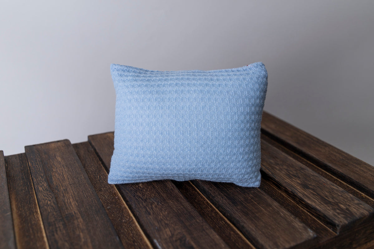 Mini Pillow with Cover - Perforated - Cloud