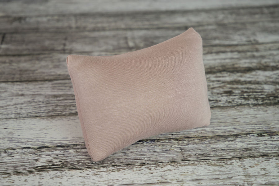 Mini Pillow with Cover - Smooth - Taupe