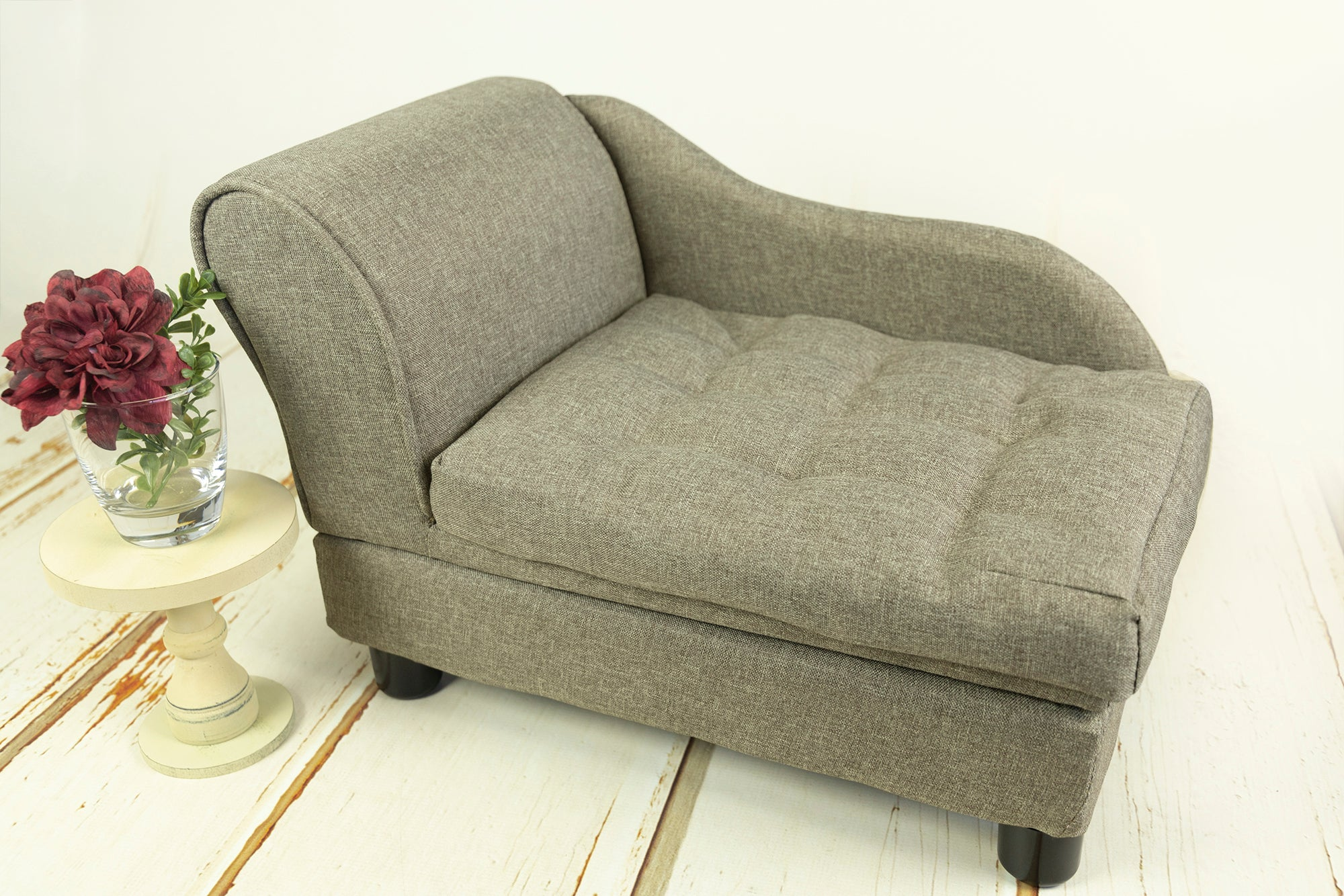 Mini Sofa - Model 8 - Twotone Nut