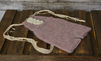 Mohair Romper for baby photography