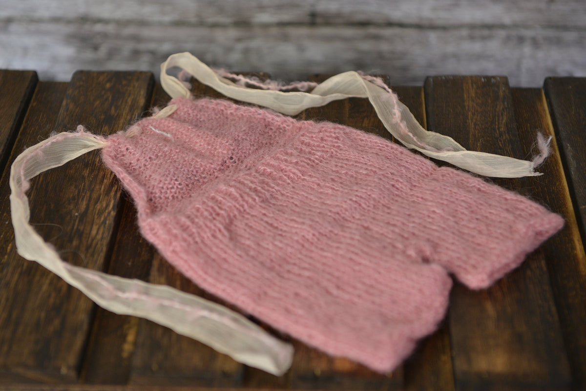 Mohair Romper for newborn girl
