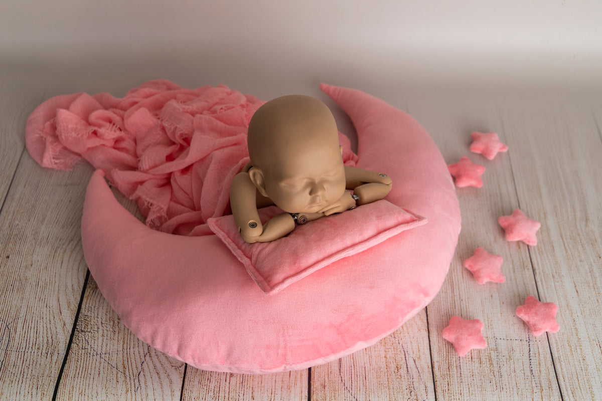 Moon Pillow Set - Pink