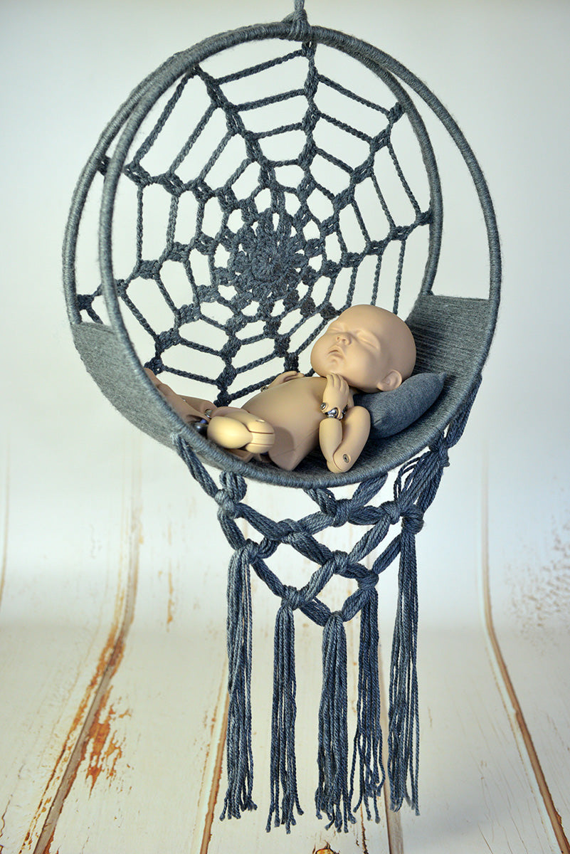 dreamcatcher swing newborn photo prop