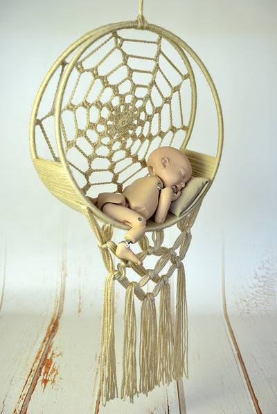 dreamcatcher swing baby photo prop