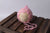 Ornate Pointy Mohair Bonnet - Pink