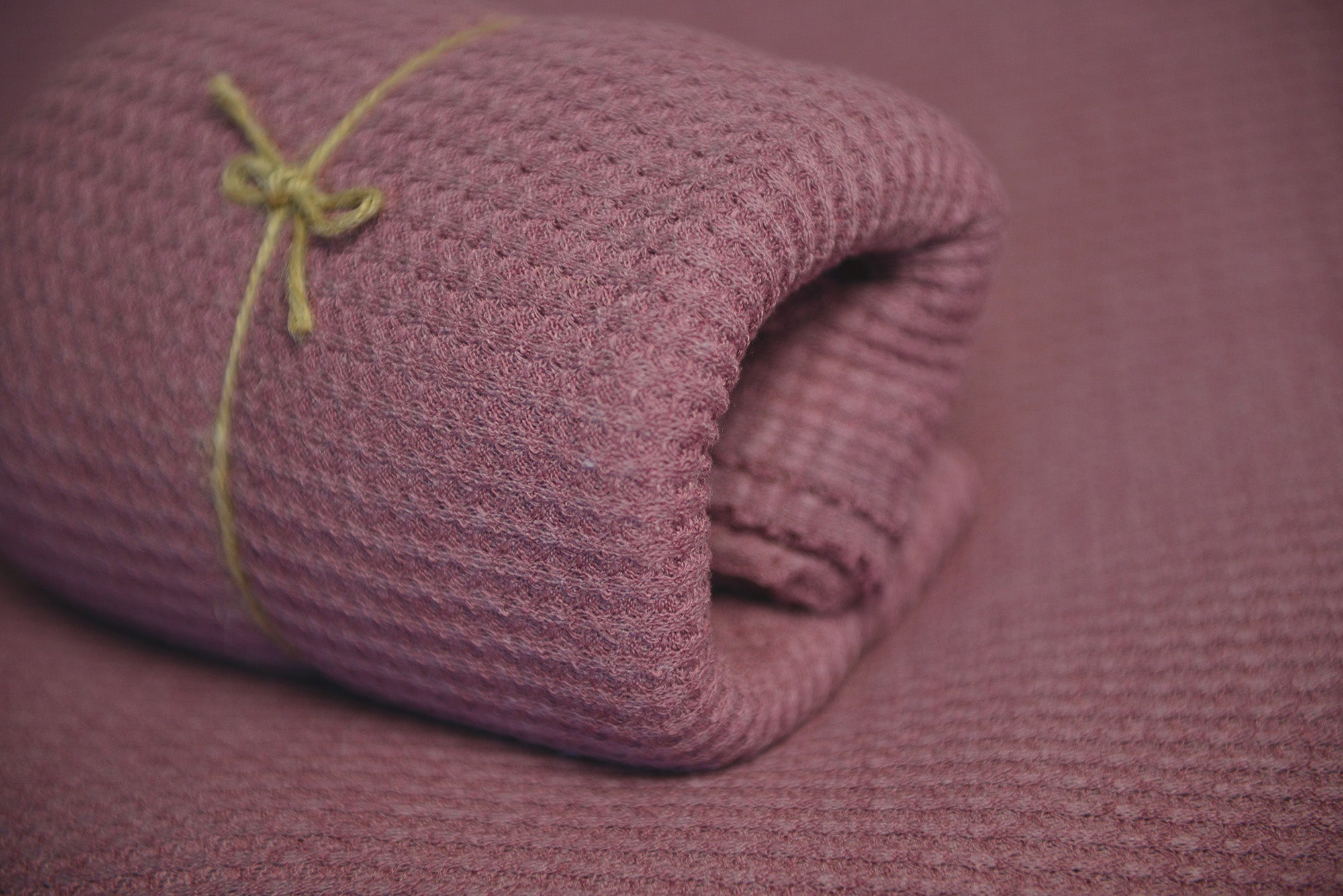 Baby Wrap - Perforated - Marsala