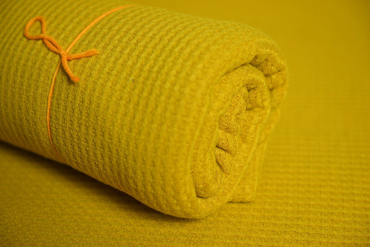Baby Wrap - Perforated - Mustard