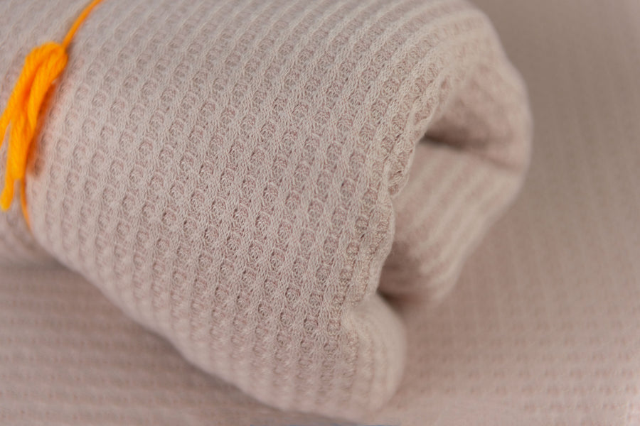 Bean Bag Fabric - Perforated - Nude Pink