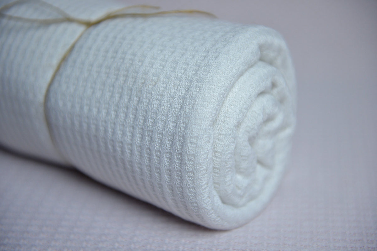 Baby Wrap - Perforated - White