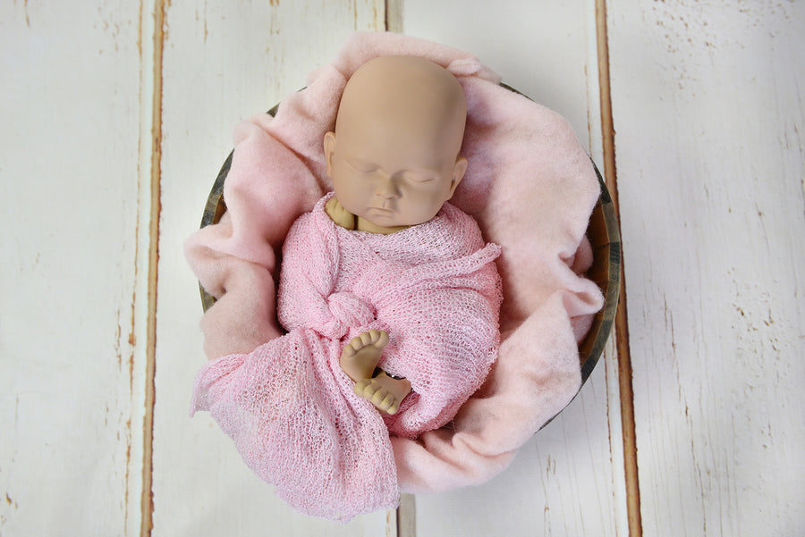 Wool Wrap - Light Pink