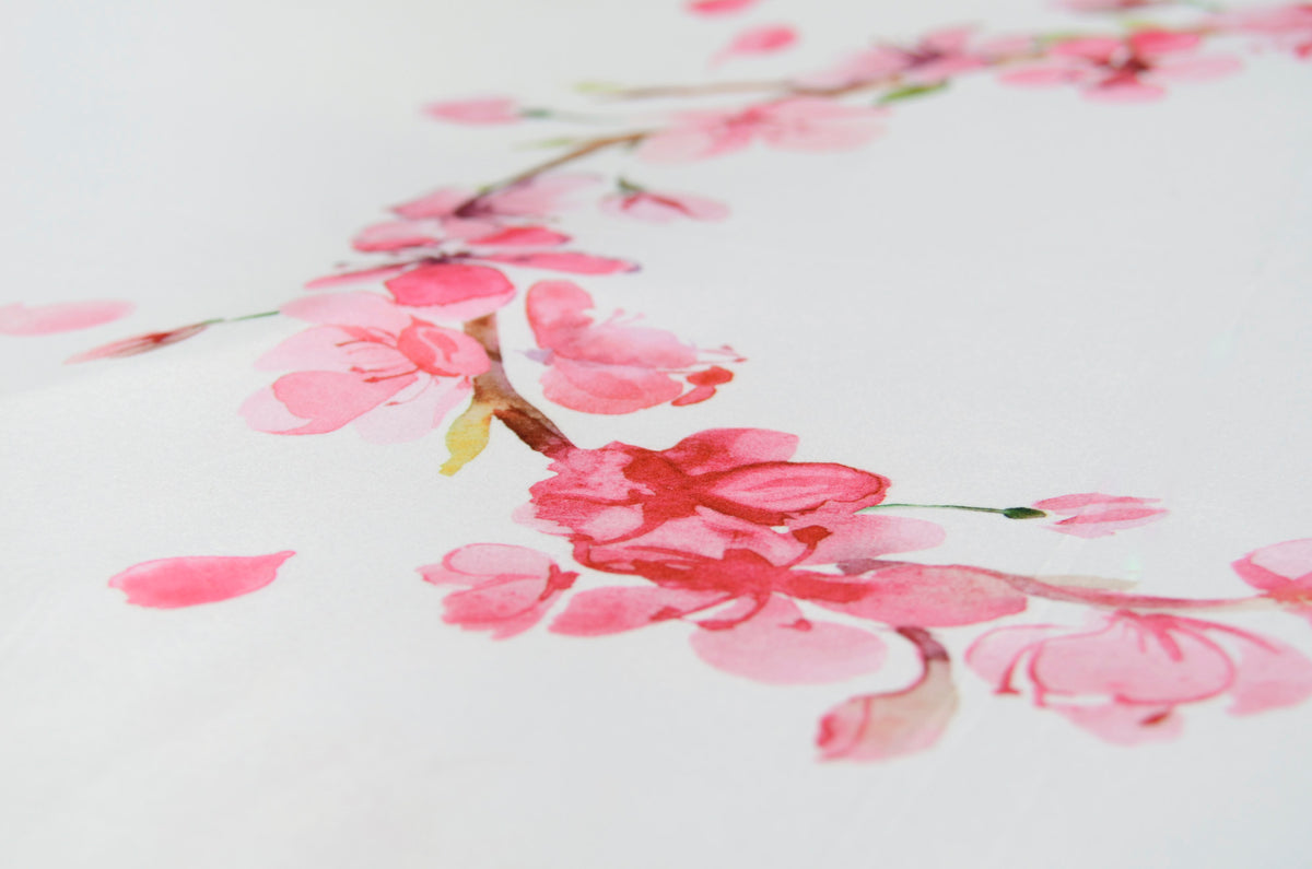 Printed Fabric - Cherry Blossoms