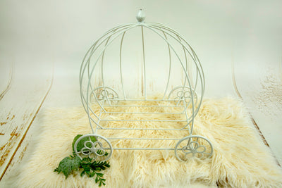 Wire Pumpkin Carriage - Model 3