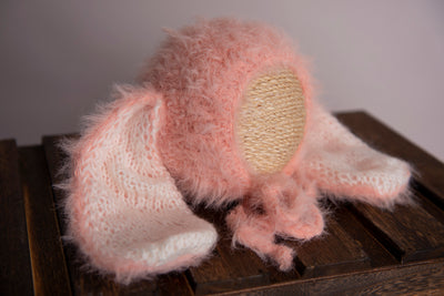 Rabbit Ears Hat - Pink