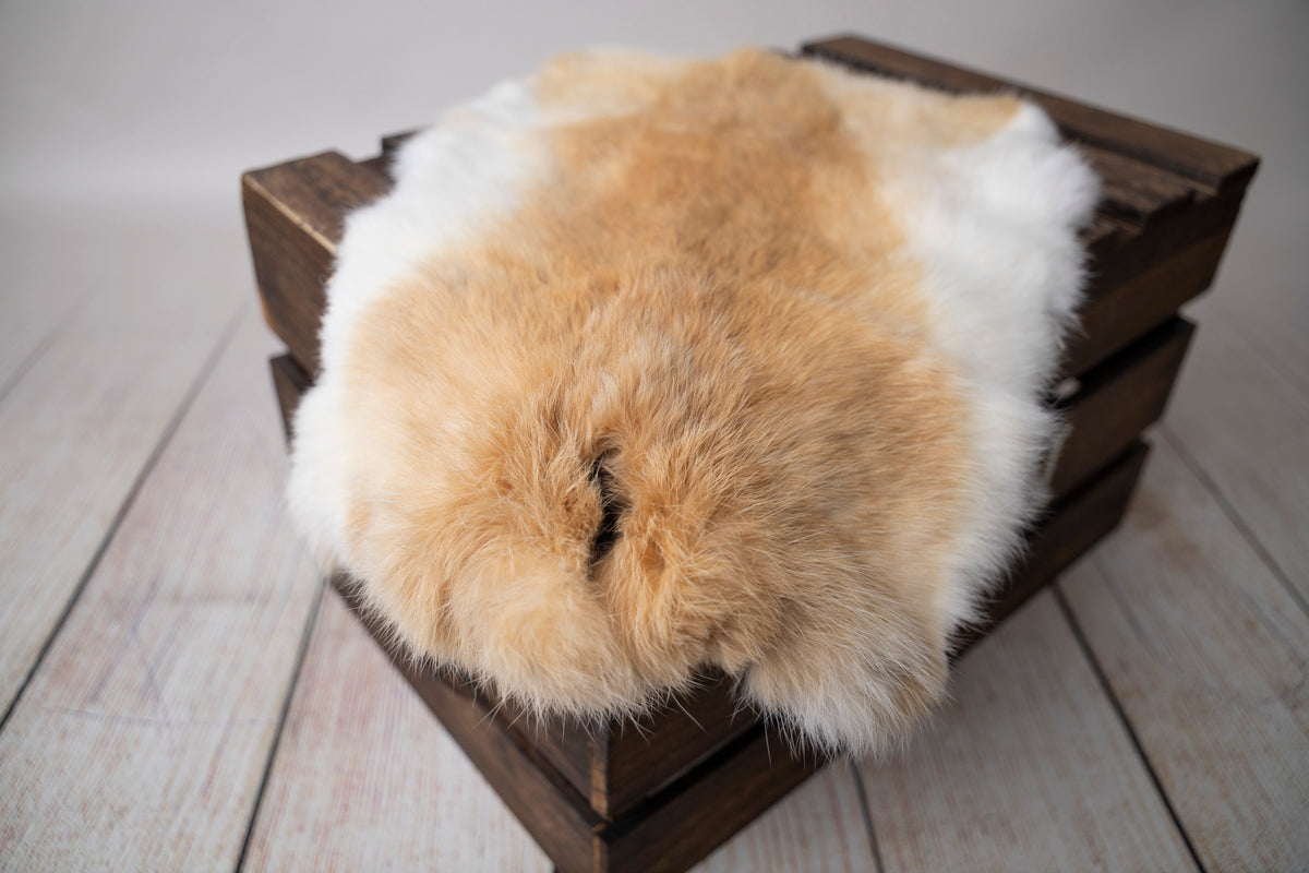 Rabbit Faux Fur - Brown