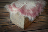Natural Wool Base - Pink-Newborn Photography Props