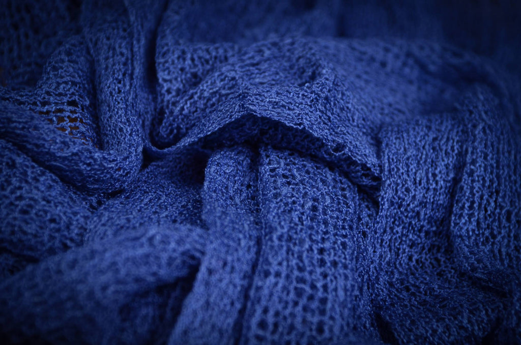 Stretch Knit Baby Wrap - Intense Blue