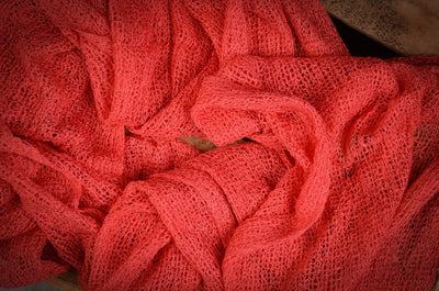 Stretch Knit Baby Wrap - Watermelon-Newborn Photography Props