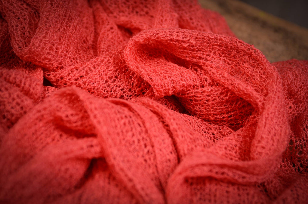 Stretch Knit Baby Wrap - Watermelon