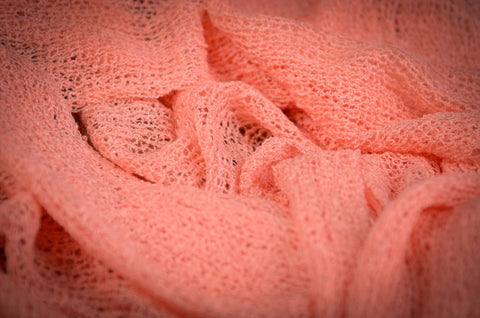 Stretch Knit Baby Wrap - Pink Salmon