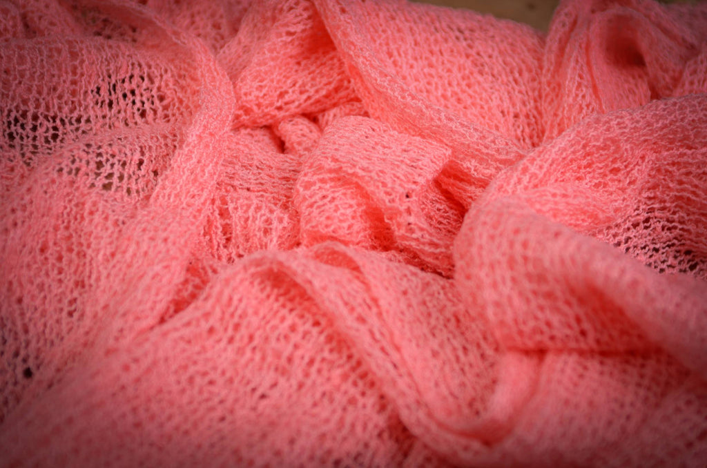 Stretch Knit Baby Wrap - Dark Pink