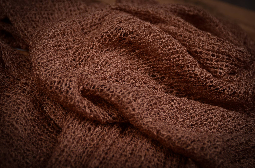 Stretch Knit Baby Wrap - Brown