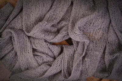 Stretch Knit Baby Wrap - Gray