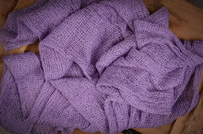 Stretch Knit Baby Wrap - Lilac