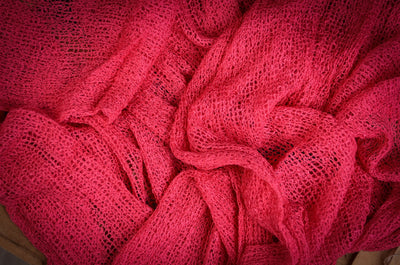 Stretch Knit Baby Wrap - Fuchsia-Newborn Photography Props