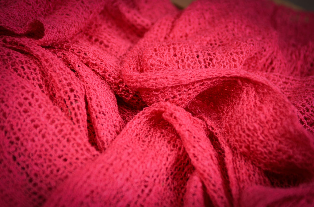 Stretch Knit Baby Wrap - Fuchsia