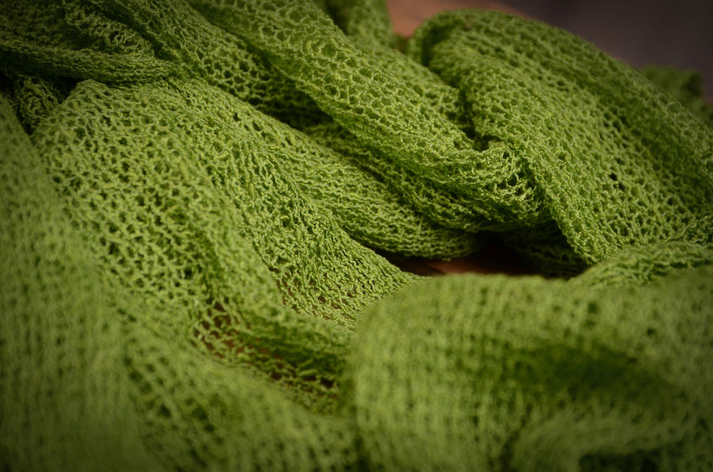 Stretch Knit Baby Wrap - Brasil Green
