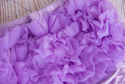 Ruffled Pants - Lilac
