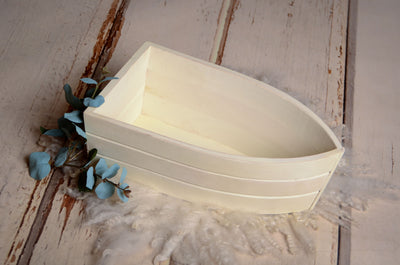 Rustic Boat - Off White