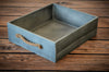 Rustic Crate - Blue Gray