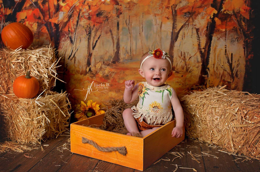Rustic Crate - Mustard-Newborn Photography Props
