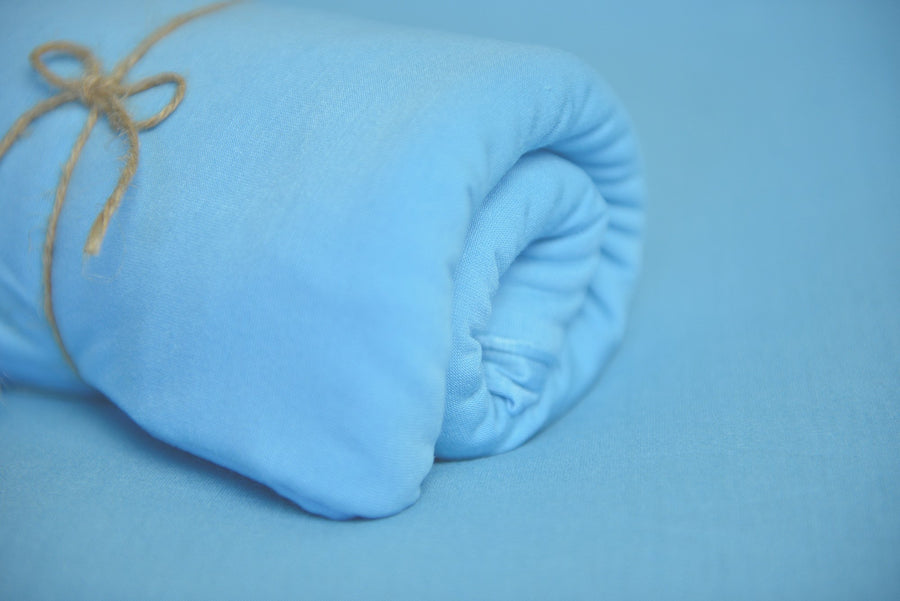Baby Wrap - Smooth - Sky Blue
