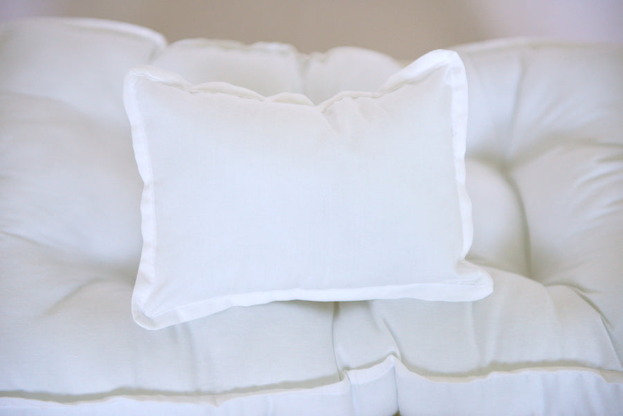 SET Mattress and Pillow - Solid White