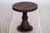 Rustic Cake Stand/Nightstand - 6.5in Tall - Brown