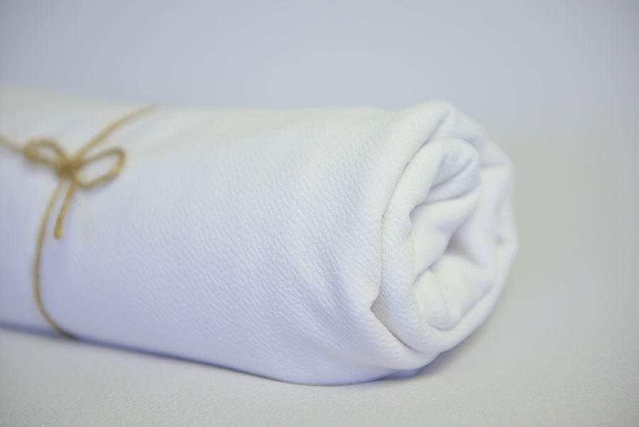 Baby Wrap - Textured - White
