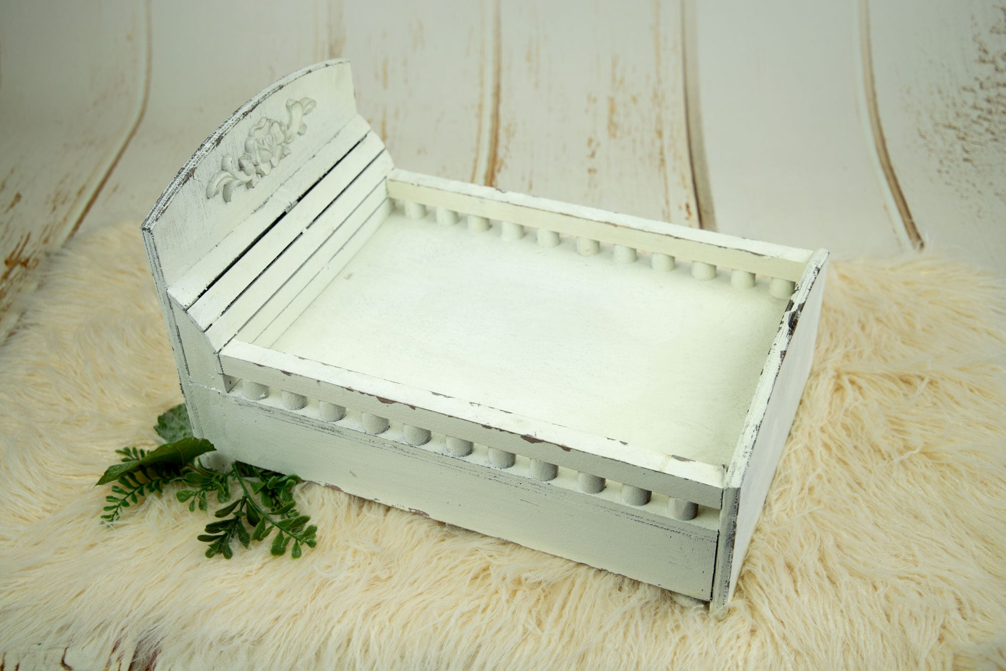 Vintage Bed - Classic Model 2 - White