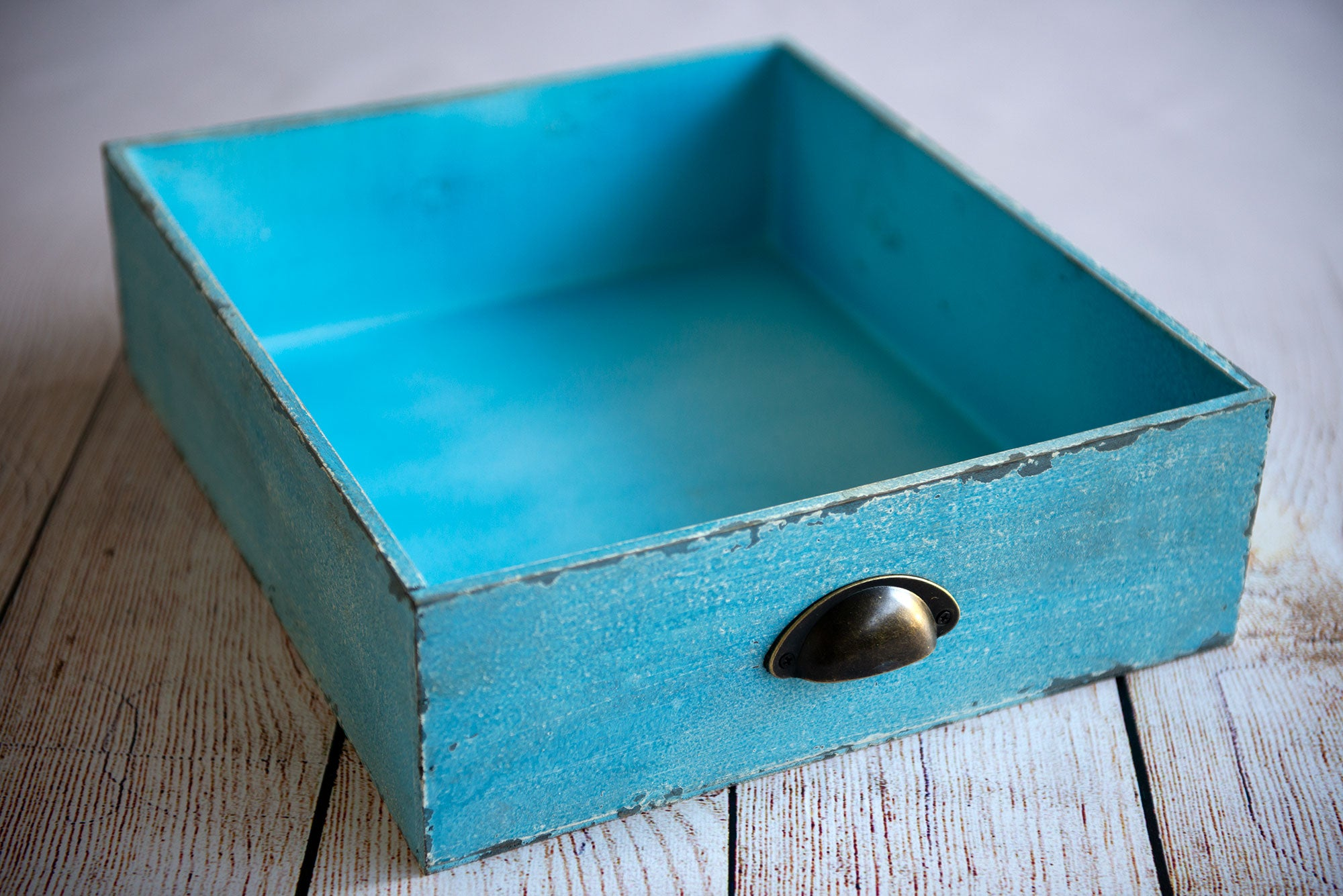 Vintage Drawer - Light Blue