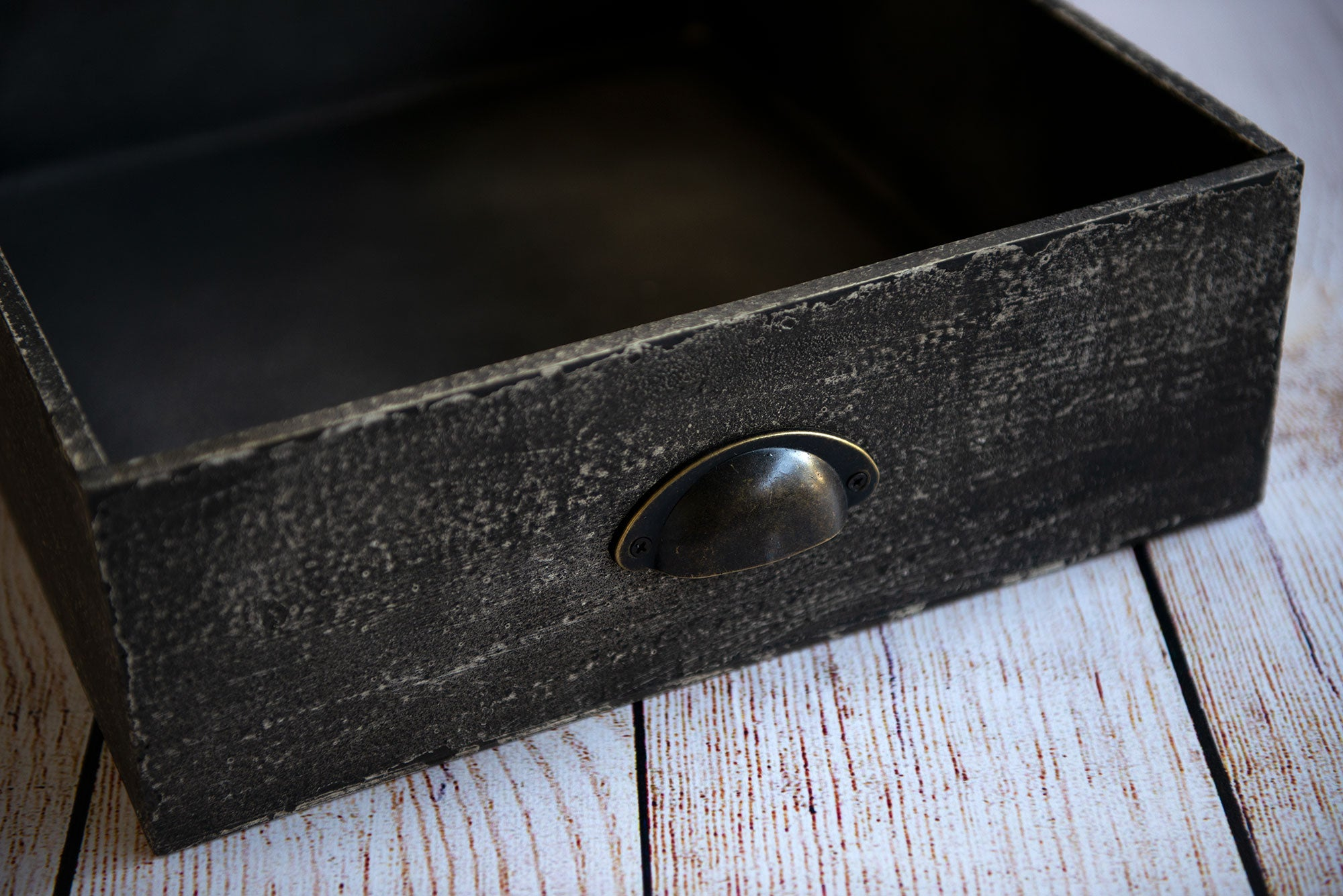 Vintage Drawer - Dark Gray