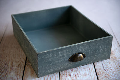 Vintage Drawer - Light Gray