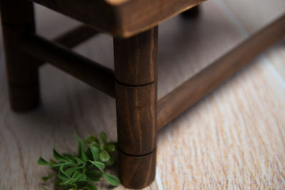 Wooden Windsor Chair - Brown