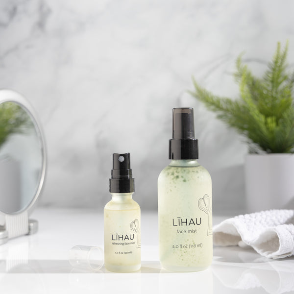 What's Floating in my Līhau Facial Mist?