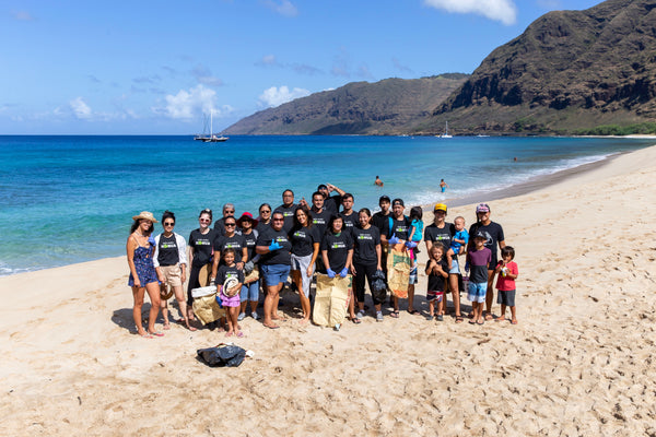 Mākua Beach Cleanup with Sustainable Coastlines!