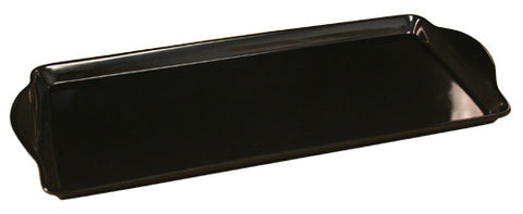 Calypso Basic Melamine Tidbit Tray, Black