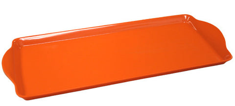 Calypso Basic Melamine Tidbit Tray, Orange