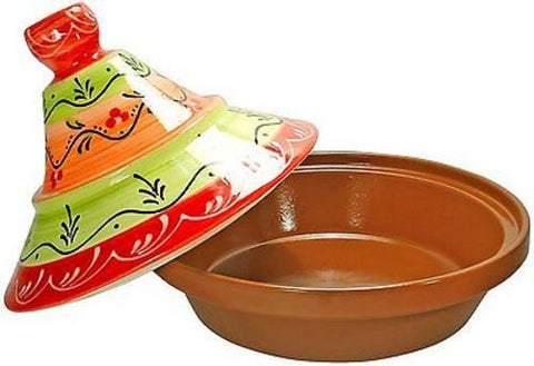 Cooking Tagine 2 Qt Terra Cotta Tajine Lead Free Cook Pot Clay Cookware Earthenware